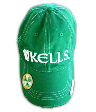 Kells Green Foam Cap